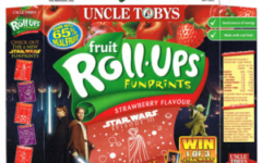 Uncle Tobys Star Wars Fruit Roll-Ups - Strawberry