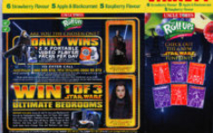 Uncle Tobys Star Wars Fruit Roll-Ups