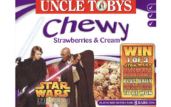Uncle Tobys Chewy Muesli Bars - Strawberries & Cream