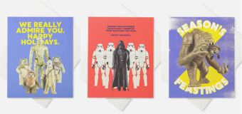 Star Wars Action Figure Christmas Cards