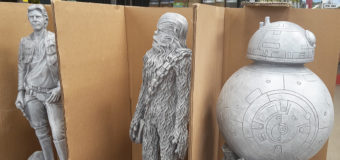 They're Back! – Star Wars Garden Statues at Bunnings
