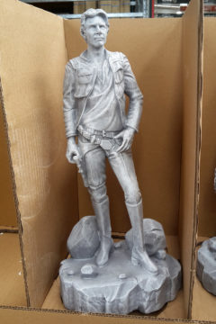 Bunnings Star Wars Garden Statues