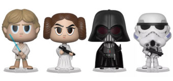 Star Wars Vynl 2-packs at Mighty Ape