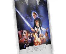 'Return of the Jedi' Silver Foil from NZ Mint