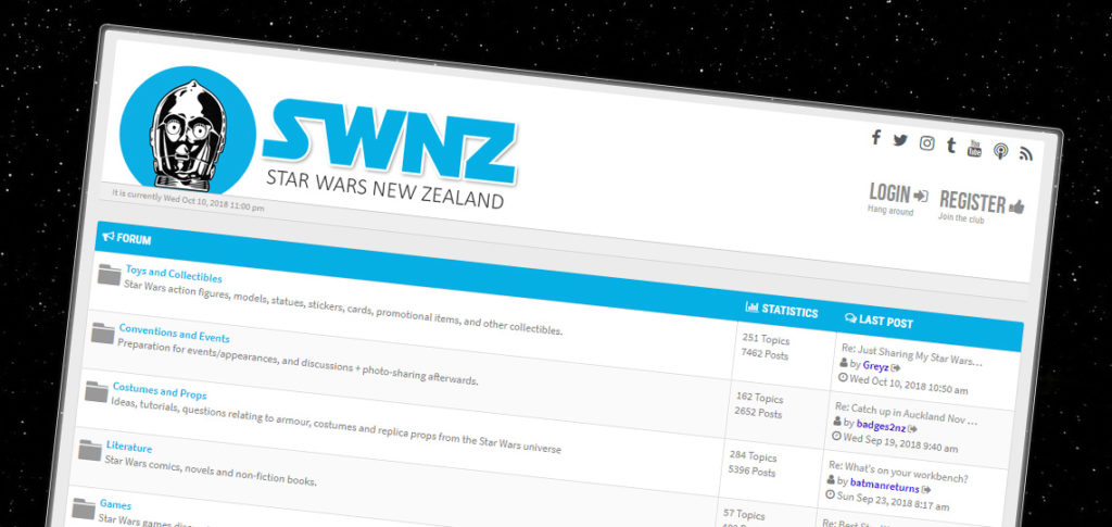 SWNZ Forums Upgraded