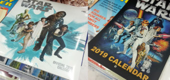 Star Wars 2019 Calendars at The Warehouse