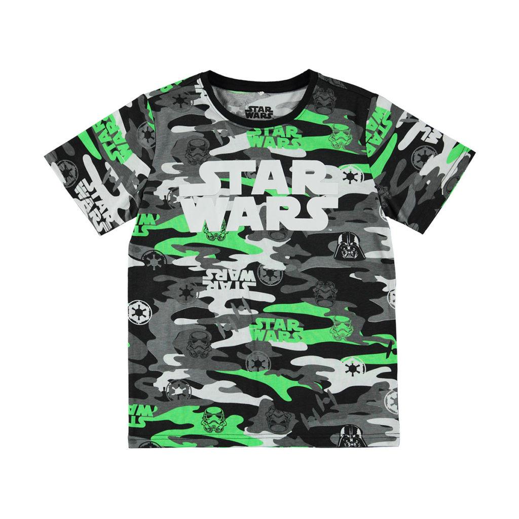 Children's Star Wars Camo Print T-Shirt at K-Mart
