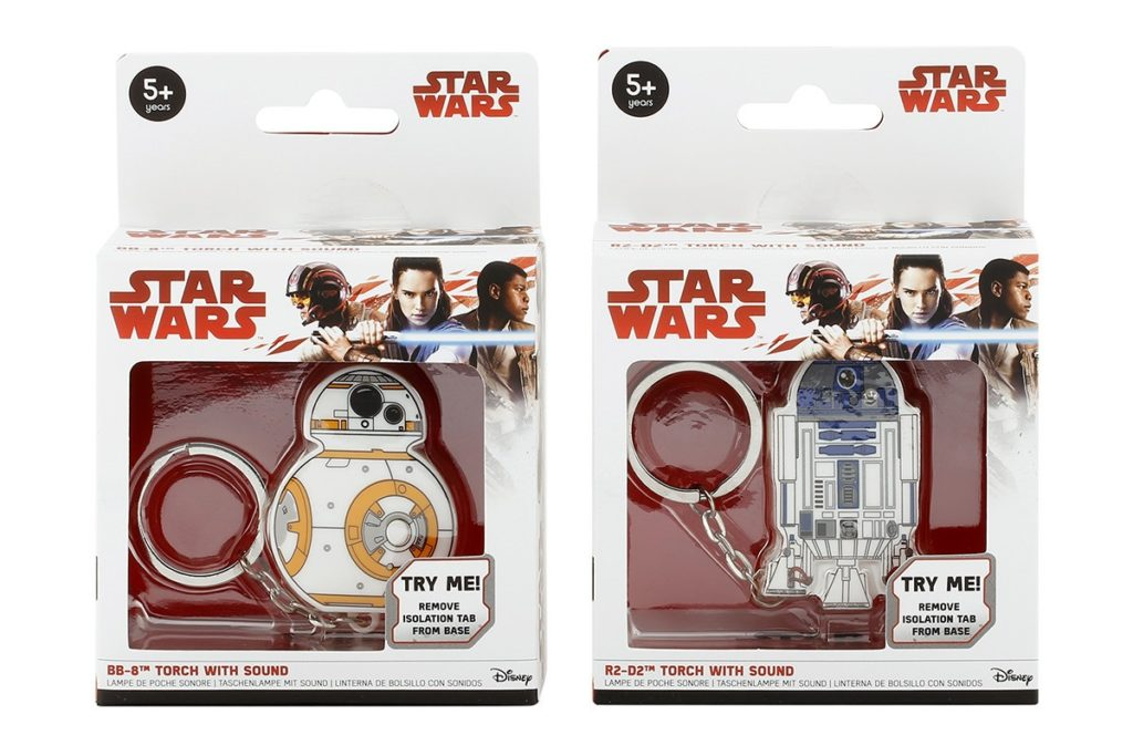 Star Wars Droid Keyrings at K-Mart