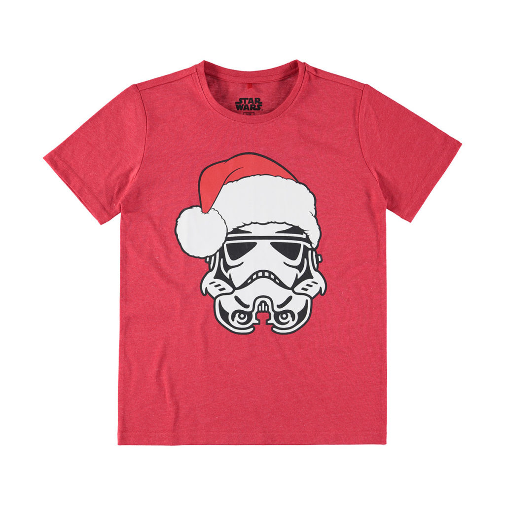 Children's Star Wars Christmas Stormtrooper T-Shirt at K-Mart