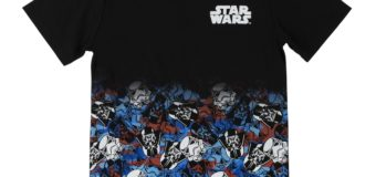 Kids Star Wars Pattern T-Shirt