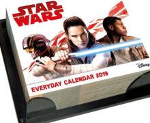 Star Wars Day-By-Day 2019 Desk Calendar