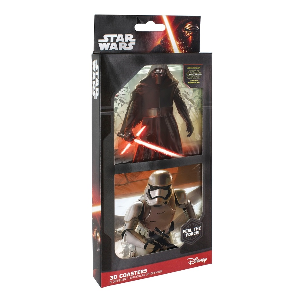 Star Wars: The Force Awakens - 3D Coaster Set at Mighty Ape