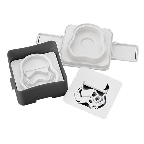 Star Wars: First Order Stormtrooper Pouch Sandwich Shaper at Mighty Ape
