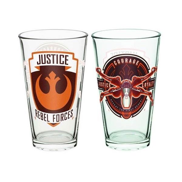 Star Wars Rebel Glass Tumbler at Mighty Ape