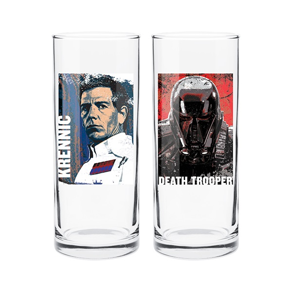 Star Wars Villians Set Of 2 Hi Ball Glasses at Mighty Ape