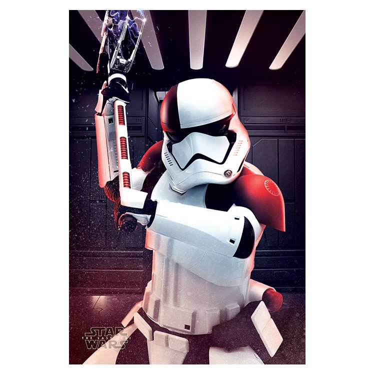 Star Wars The Last Jedi: Executioner Trooper Maxi Poster at Mighty Ape