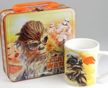 Star Wars Lunch Box, Mug, and Marshmallows from Park Avenue