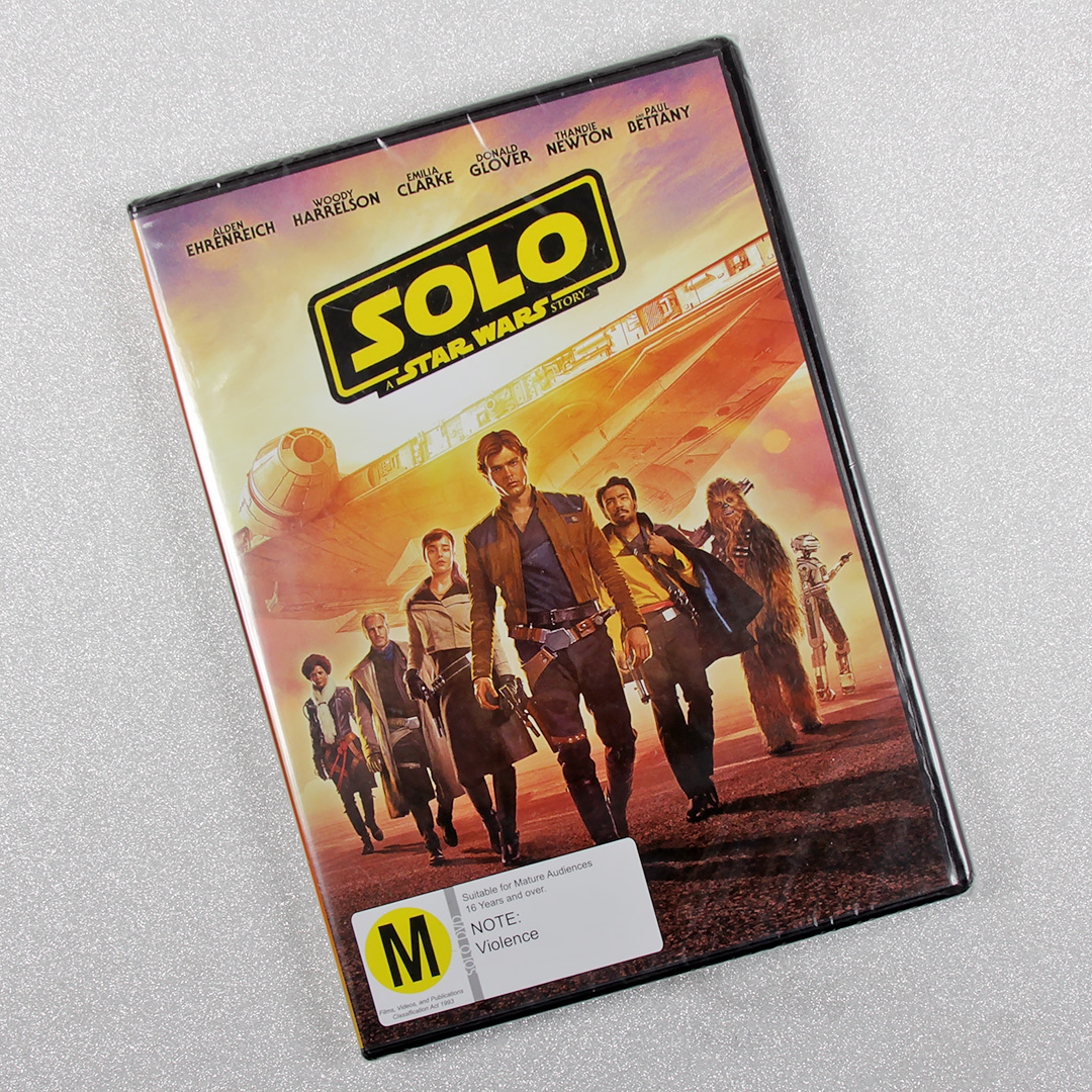 'Solo: A Star Wars Story' DVD