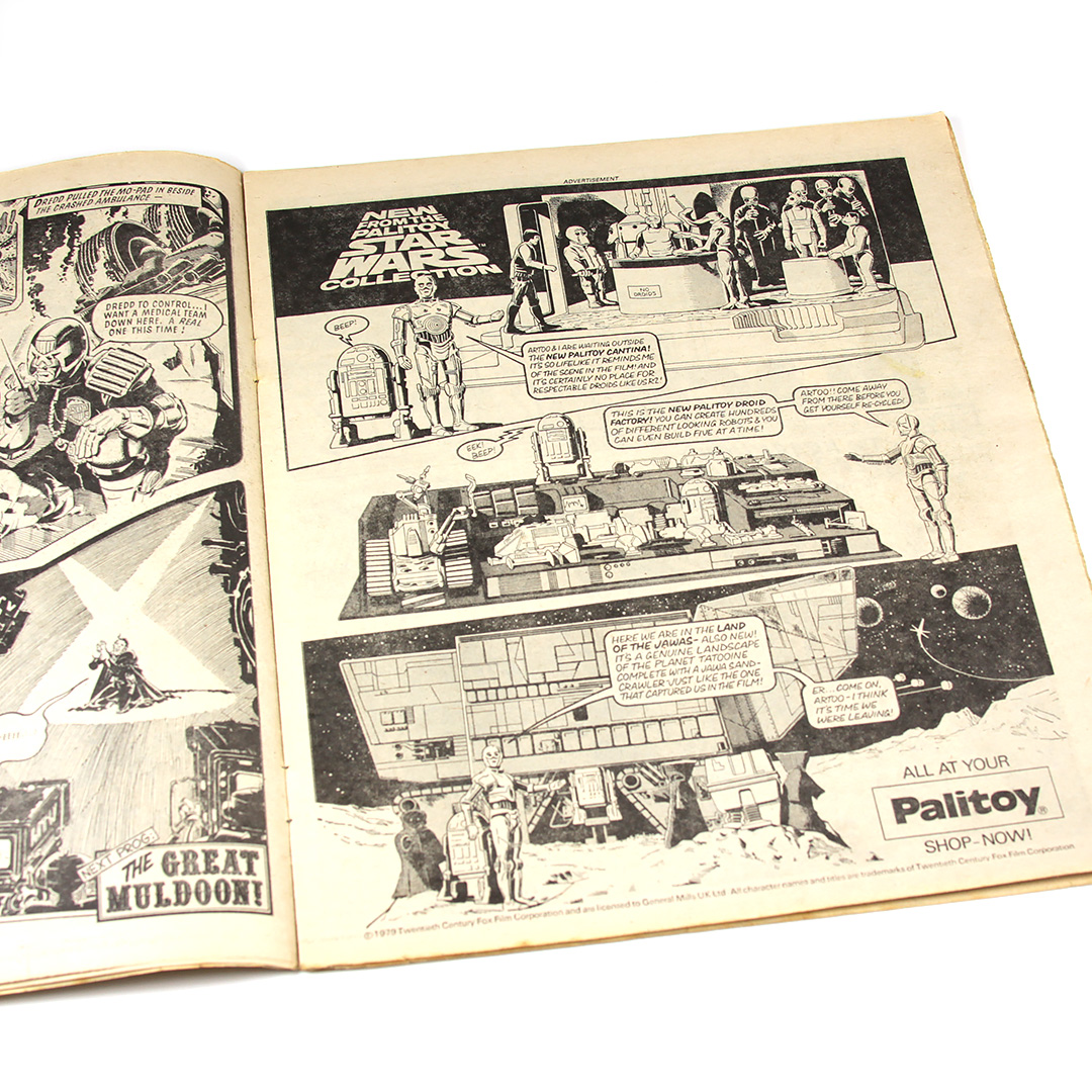Palitoy Star Wars advertising in 2000AD