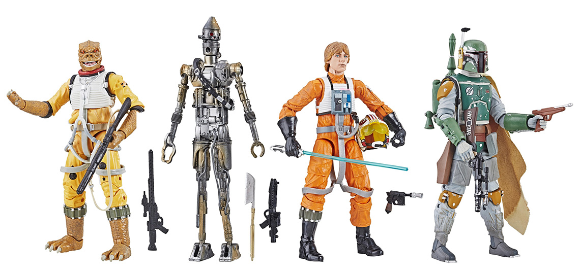 The First Wave Of Black Series Archive Collection 6 E2 80 B3 Figures Are Up For Pre Order At Mighty Ape These Figures Are Characters That Have Previously Been