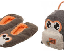 Porg Slippers and Backpack at Mighty Ape