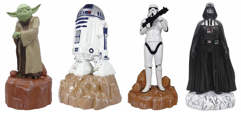 Star Wars Garden Statues at Mitre10