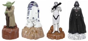Star Wars Garden Statues at Mitre10