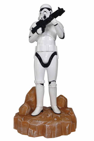 Stormtrooper Garden Statue