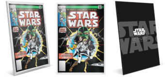 Star Wars Comic Cover Silver Foil from NZ Mint