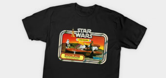 Toltoys Landspeeder T-Shirt and Wall Art