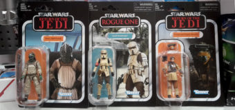 Latest Vintage Collection Figures at The Warehouse