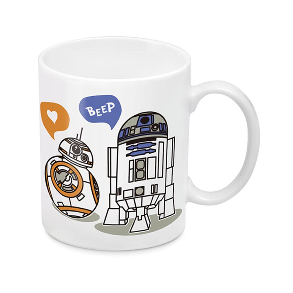 Star Wars BB-8 and R2-D2 Valentine's Mug at EB Games NZ