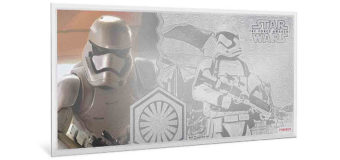 TFA Stormtrooper 5g Silver Coin Note from NZ Mint