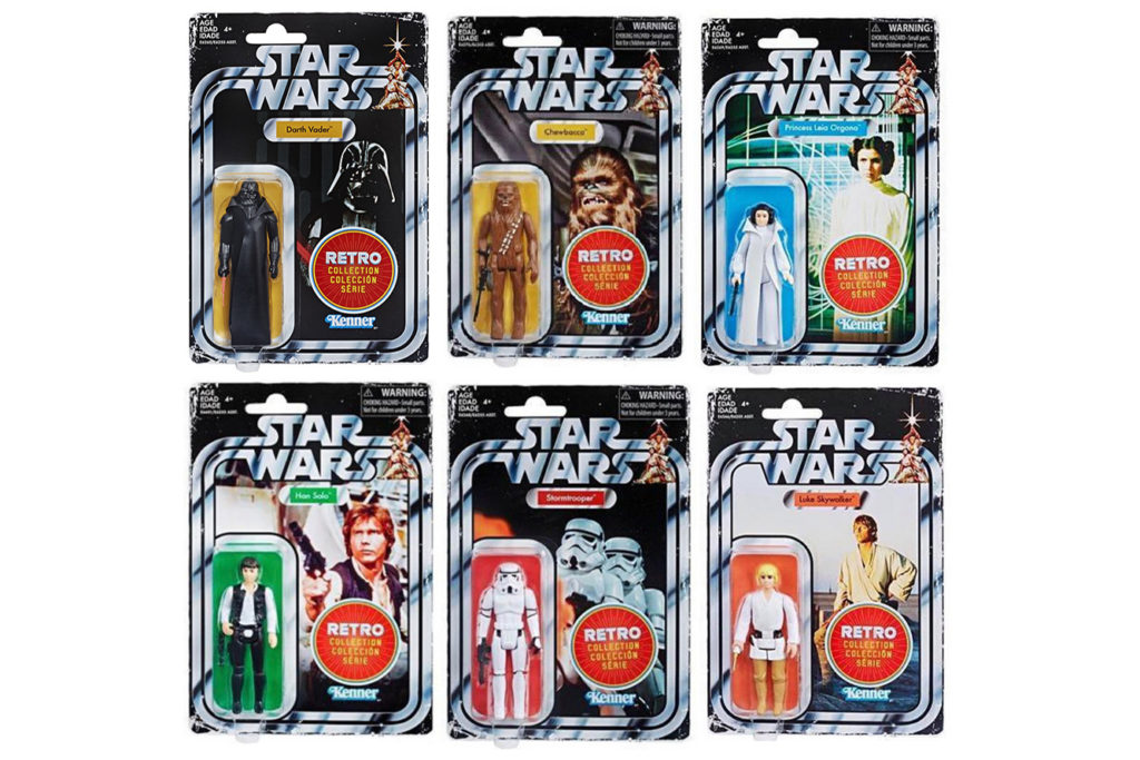 Star Wars Retro Collection Action Figures