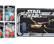 Retro Collection Action Figures and Game