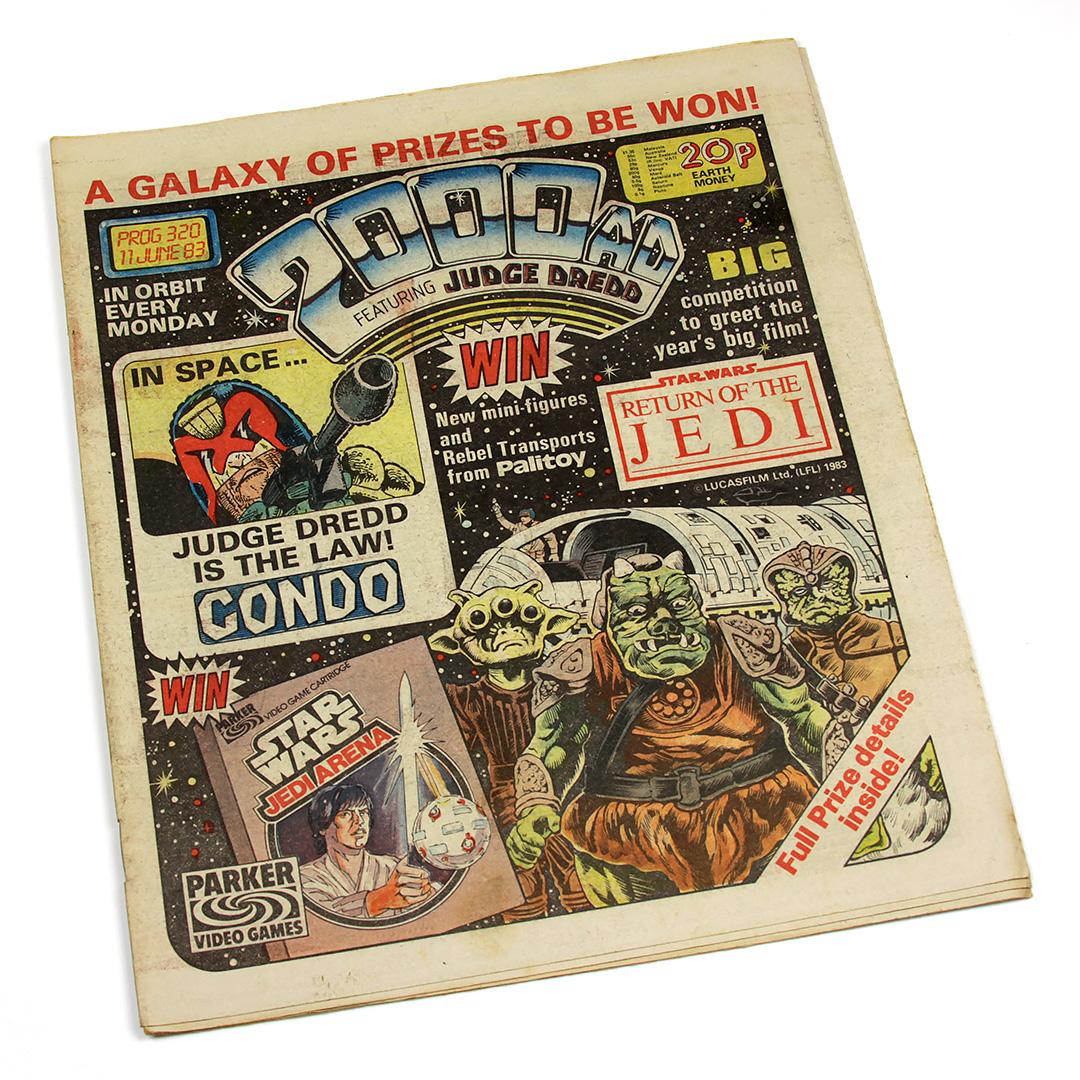 2000AD Prog 320, 11 Jun 1983