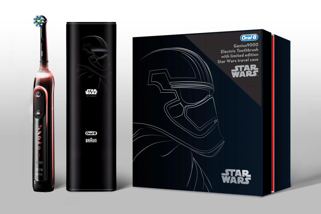 Star Wars Oral B Genius9000 toothbrush