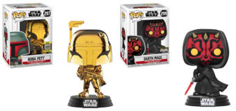 New Convention Exclusive Funko Pops at Retrospace
