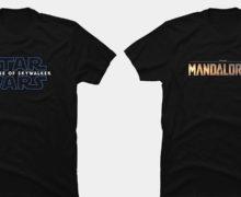 Mandalorian, Episode IX, and Fallen Order T-Shirts