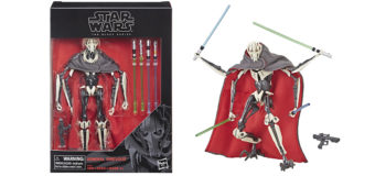 Black Series General Grievous Deluxe Figure In Stock