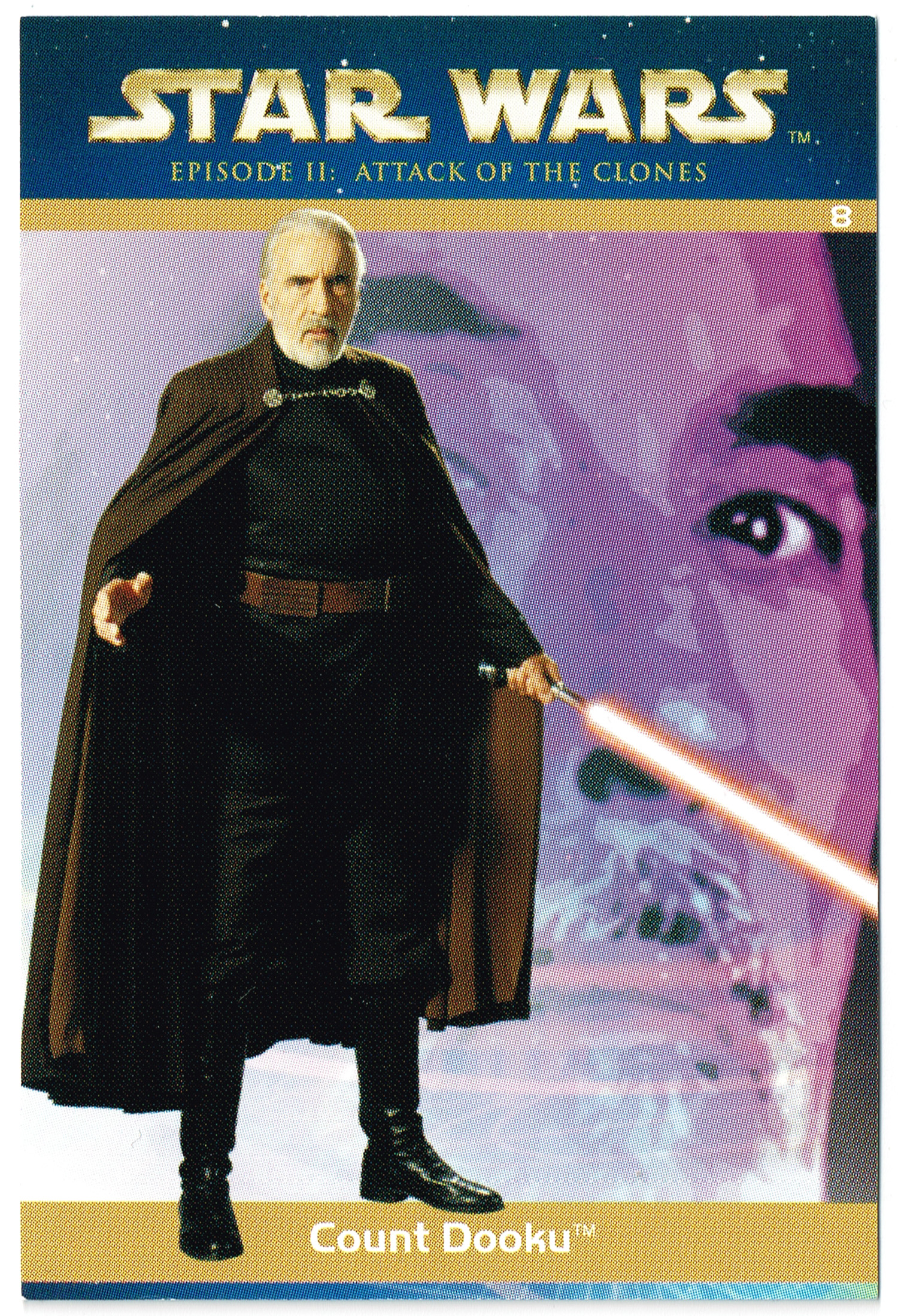 """Taste the Magic"" Collector Card 08 - Count Dooku"