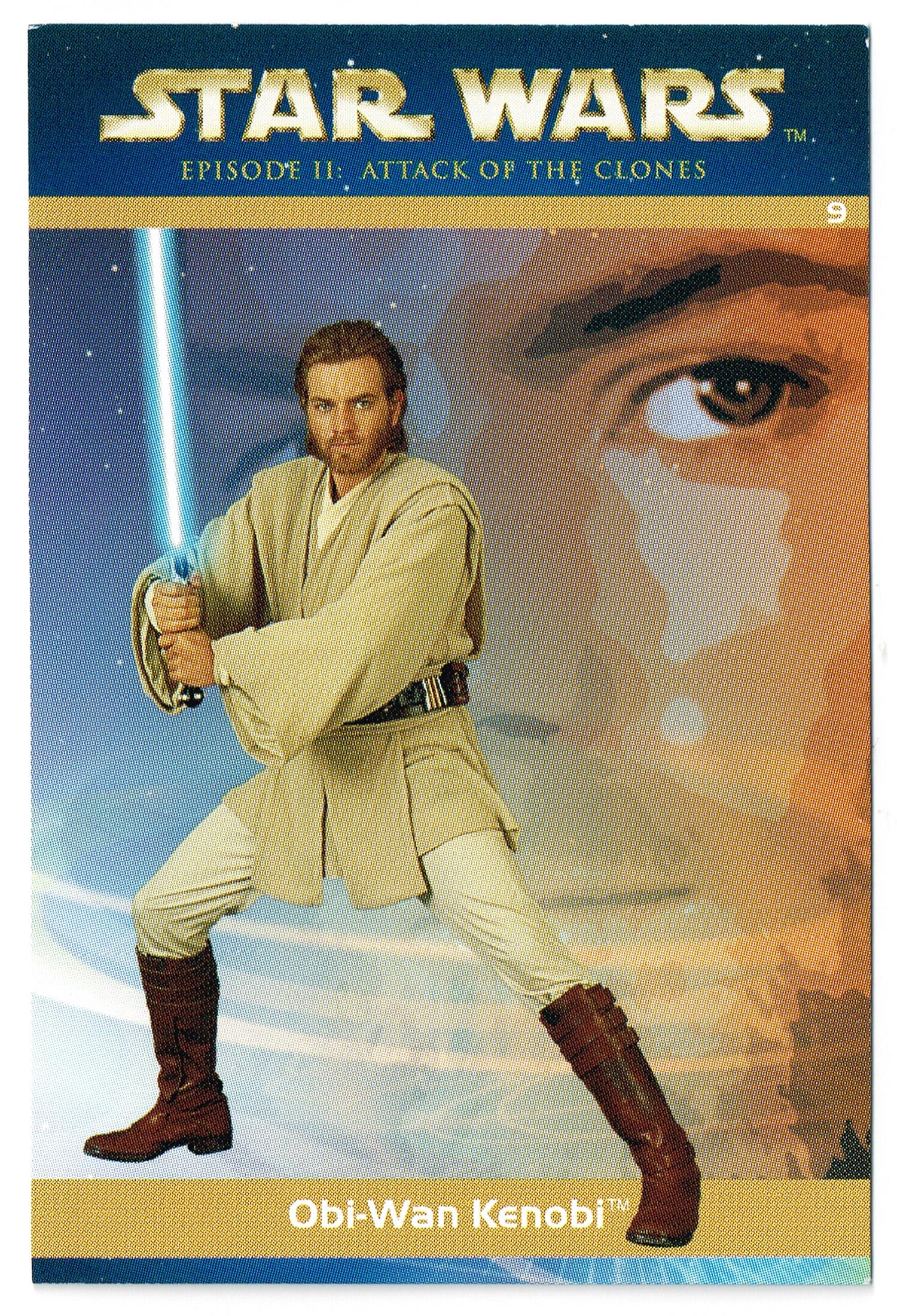 """Taste the Magic"" Collector Card 09 - Obi-Wan Kenobi"