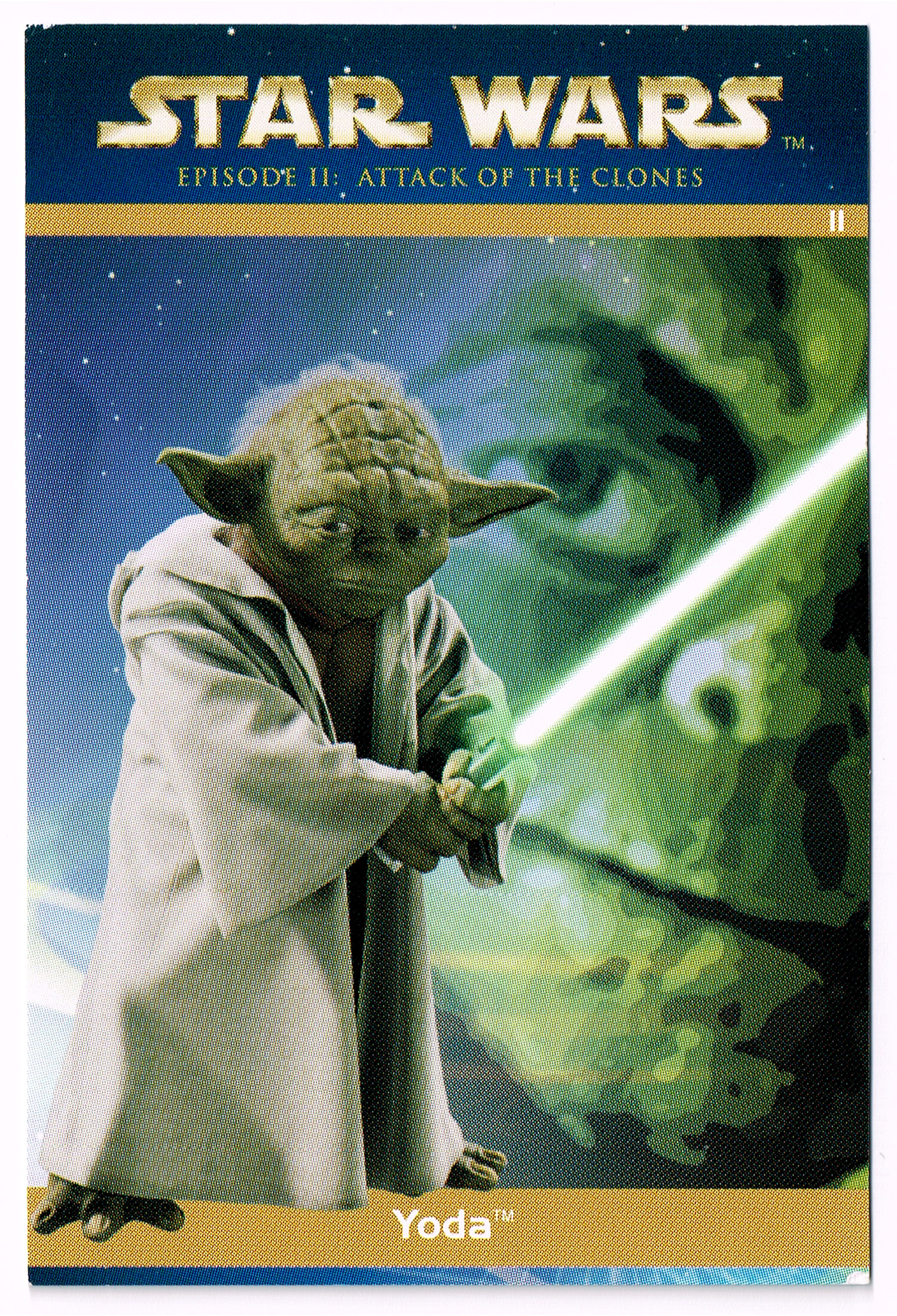 """Taste the Magic"" Collector Card 11 - Yoda"