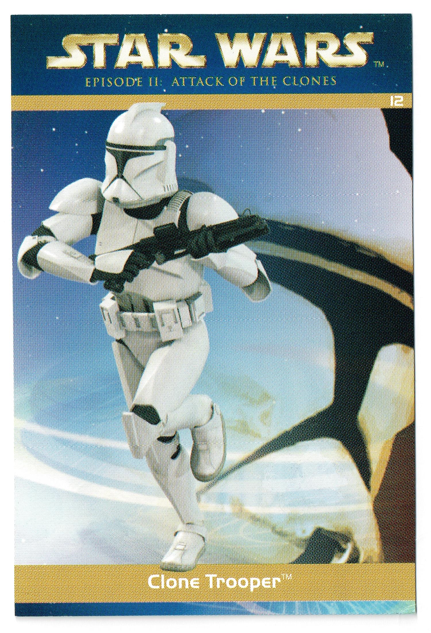 """Taste the Magic"" Collector Card 12 - Clone Trooper"
