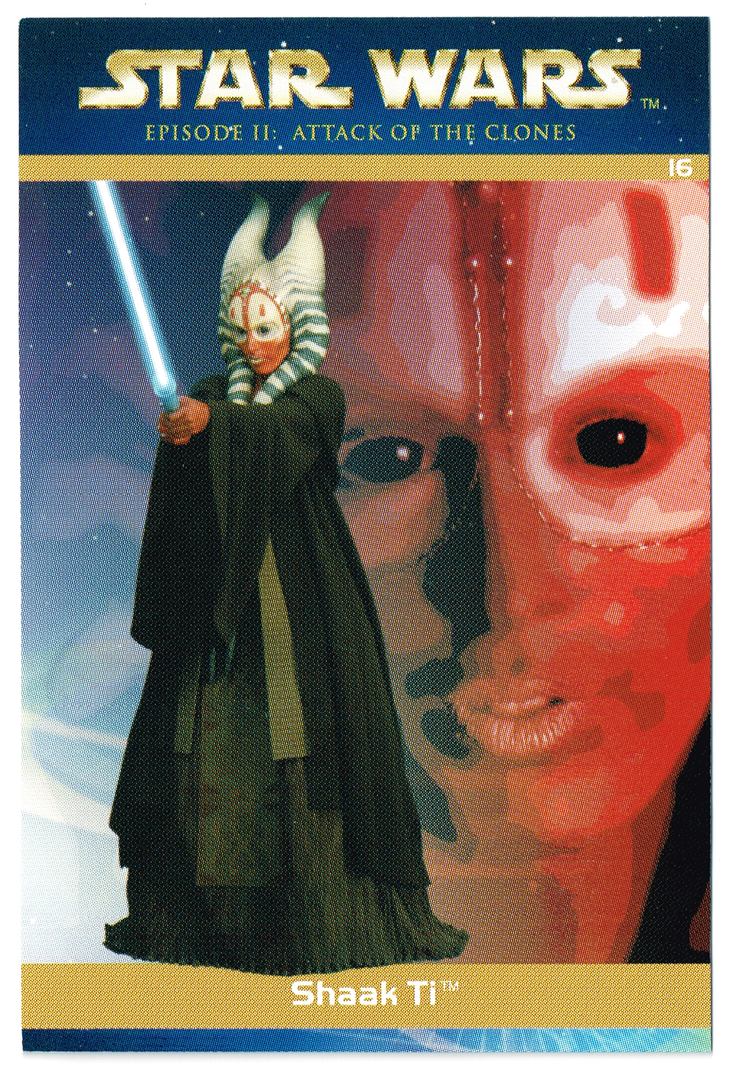 """Taste the Magic"" Collector Card 16 - Shaak Ti"
