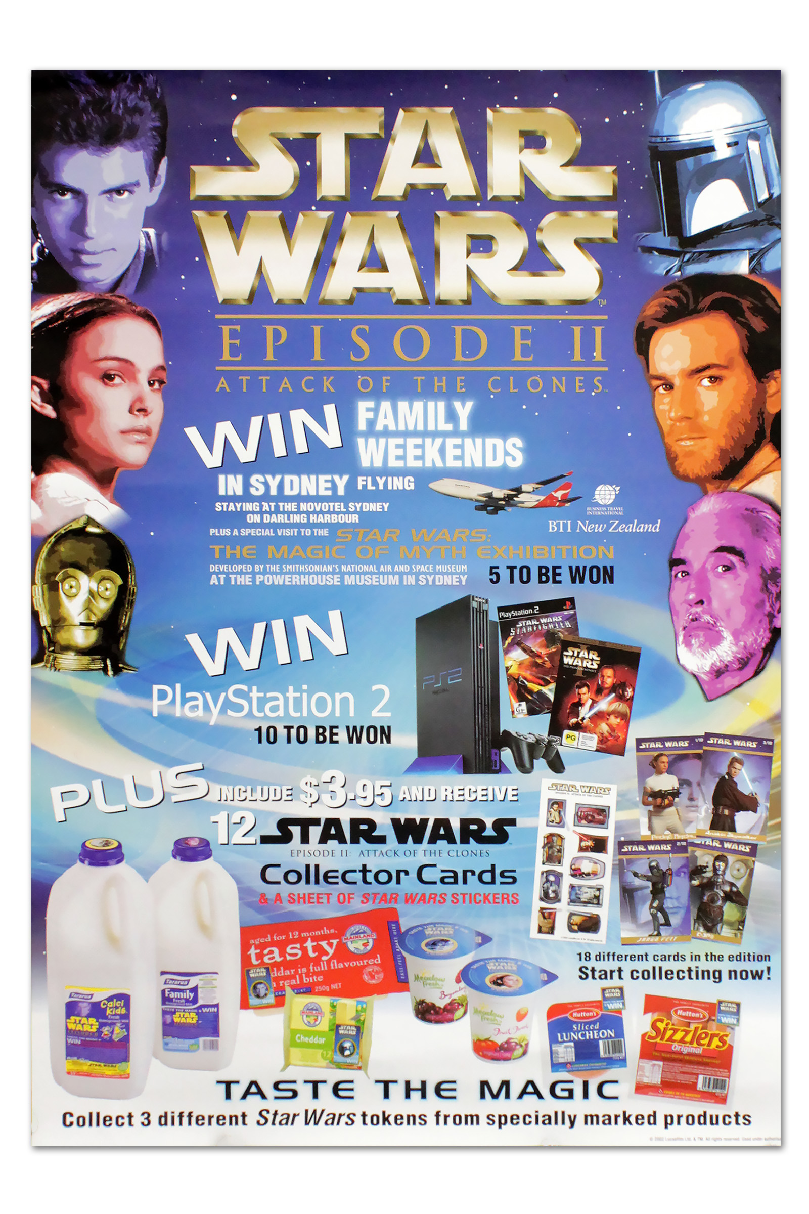 """Attack of the Clones """"Taste the Magic"""" Promotional Poster"""