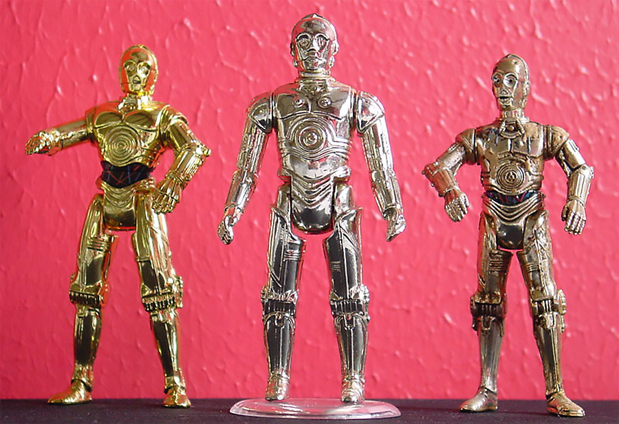 C-3PO Action Figure Comparisons