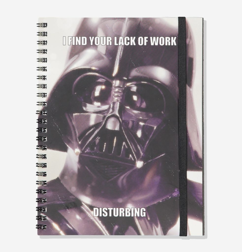 Star Wars Darth Vader A5 Notebook at Cotton On