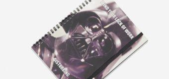 Darth Vader Notebook at Typo