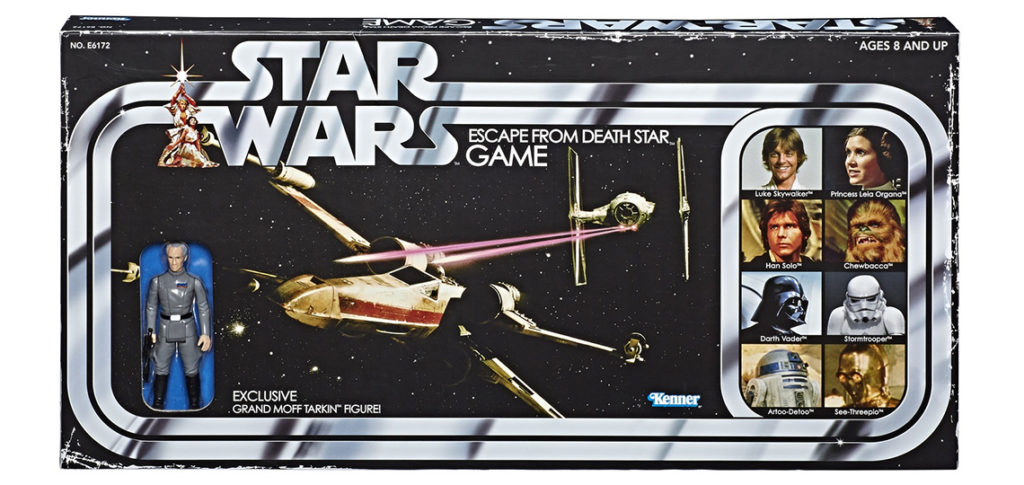 Escape From Death Star game with Tarkin figure